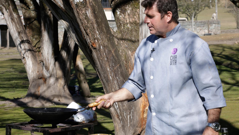 Hoy en cocinando con maxi polenta a la tabla desde la for Cocinando con sergio en la1