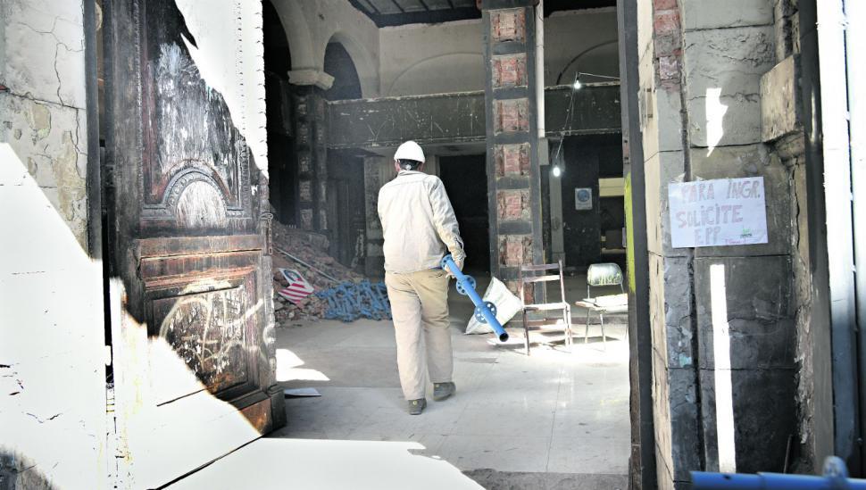 Cómo salvar un edificio casi en ruinas