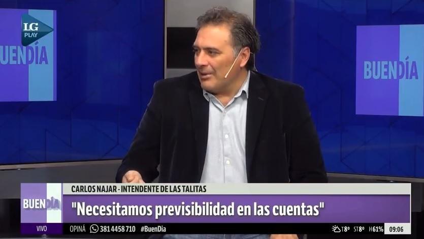 DECLARACIONES. Carlos Najar en el piso de LG PLAY.