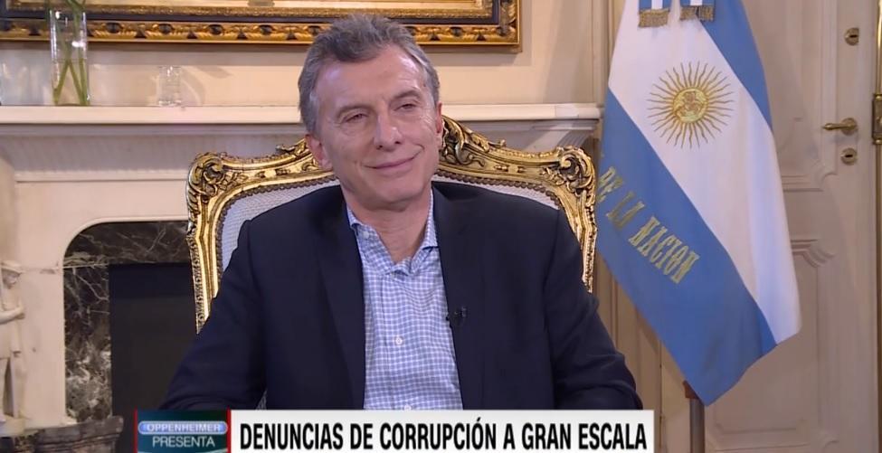 Muchos me dicen que no me conviene que Cristina vaya presa — Macri