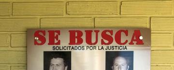 Los hinchas de Atlético en la tierra de Pablo Escobar