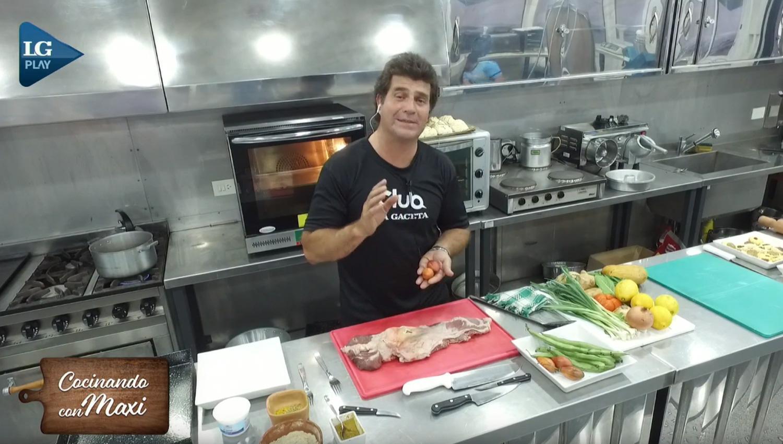 Hoy en cocinando con maxi matambre a la napolitana for Cocinando con sergio en la1