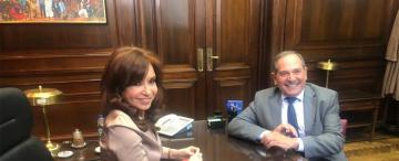 Alperovich elogió a Cristina y se reunió con referentes del PJ: