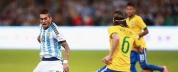 """""""Maxi"""" Pereyra desde Arabia Saudita: """"a Brasil le queremos ganar siempre"""""""
