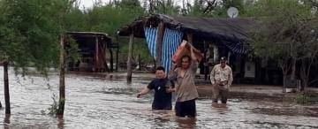 Sigue lloviendo y se complica la situación de los pueblos del sur que se inundaron