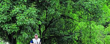 Germán tiene 74 años y, desde hace cuatro décadas, corre cada día de su vida