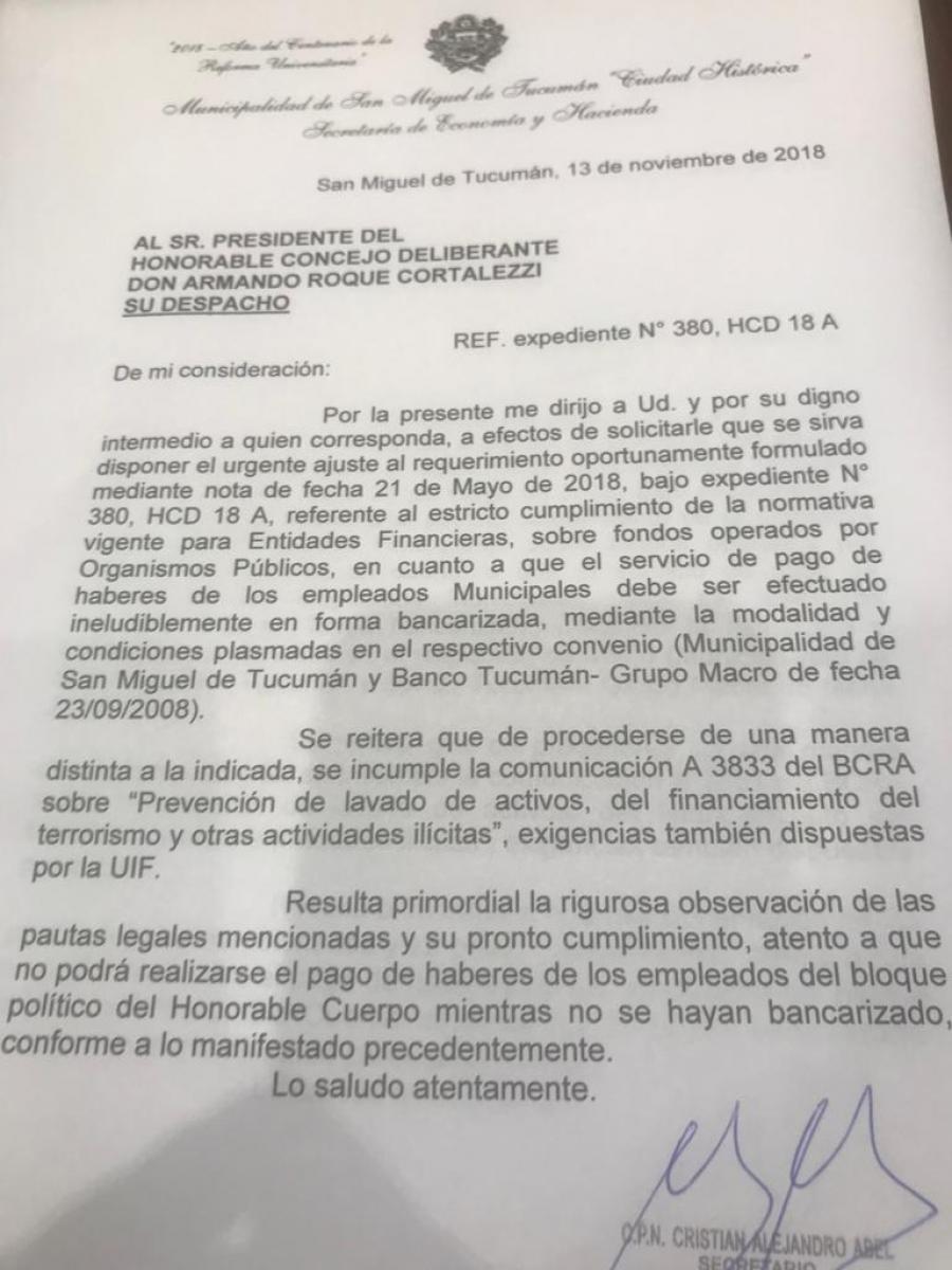 En el Concejo refuerzan la idea de que Alfaro busca extorsionar a la oposición