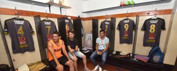 Jugadores de Concepción FC repararon las instalaciones de su club