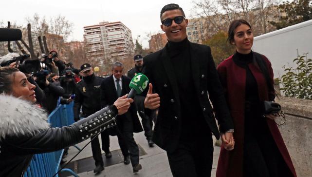 7a1da2ef1a Condenaron a Cristiano Ronaldo a 23 meses de prisión y al pago de 18 ...