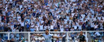 Atlético y un reestreno ideal: gustó y goleó a Gimnasia en el Monumental