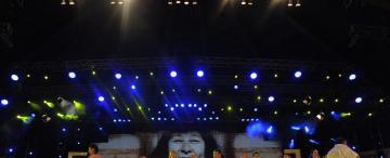 La delegación tucumana que homenajeó a Mercedes Sosa brindó un espectáculo sin fisuras