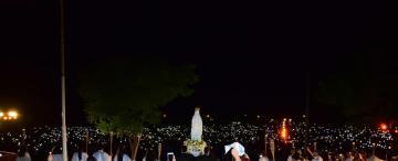 Con lluvia, honraron a la Virgen de Lourdes en San Pedro de Colalao
