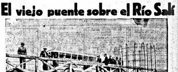 Se construye el puente Lucas Córdoba