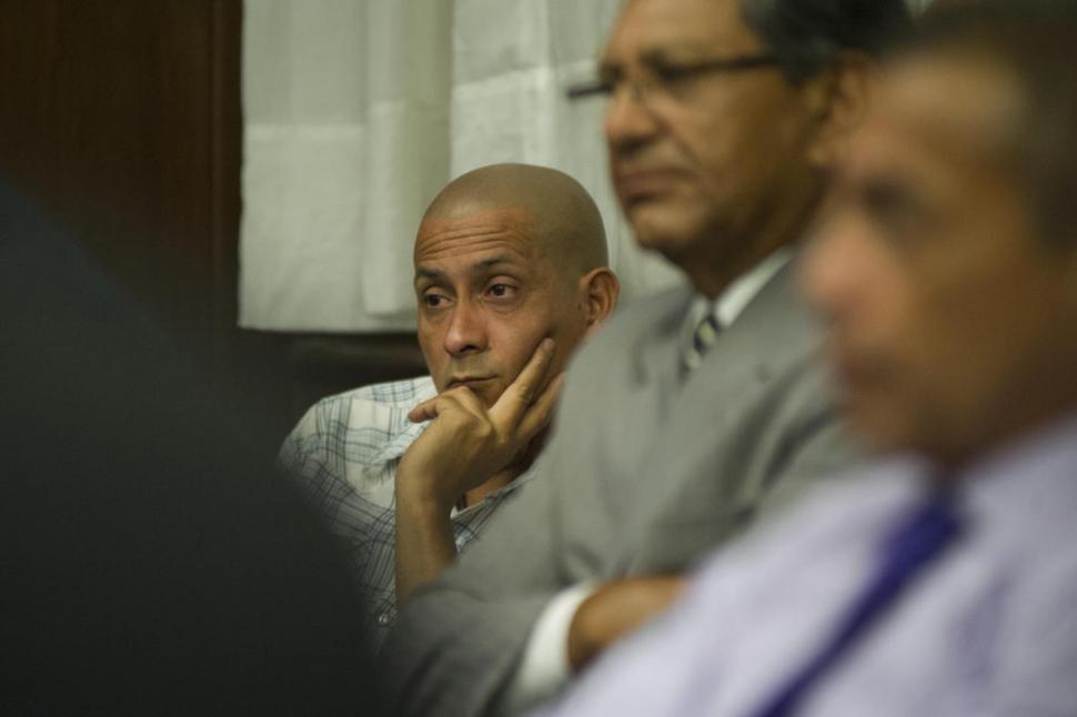 IMPUTADO. Las palabras de Roberto Gómez cerraron la etapa de debate y dieron paso a las deliberaciones. la gaceta / fotos de jorge olmos sgrosso