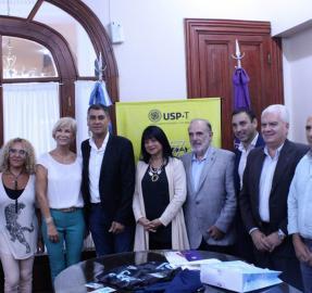 Atlético y la Universidad San Pablo-T firmaron un acuerdo
