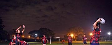 """Con el """"serpentario, el rugby llegó a Banda del Río Salí"""