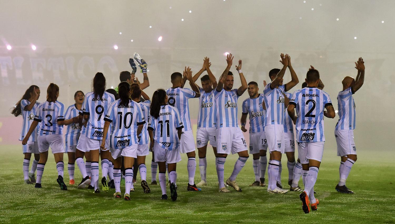 CERCA. Atlético sigue en la pelea por meterse en la Libertadores. LA GACETA/FOTO DE INÉS QUINTEROS ORIO