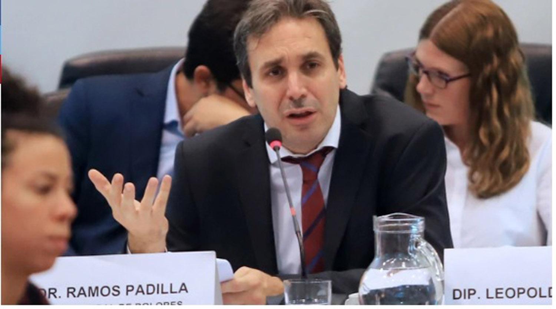 Ramos Padilla expone en el Congreso pero Cambiemos no asistirá