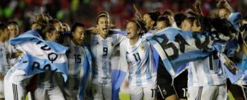 Después del 8M y antes del mundial: el fútbol femenino será profesional en Argentina