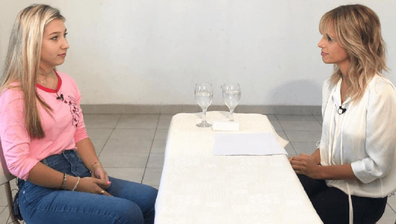 Mariana Fabbiani reveló sus emociones tras conocer a Nahir Galarza