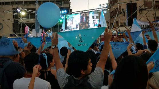 Miles de tucumanos marcharon a favor del niño por nacer