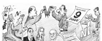Diccionario electoral, de la A hasta la Z