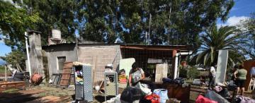 Docentes y alumnos viven una pesadilla al quedar aislados en escuelas de Santa Ana