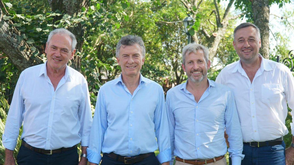 Política: El presidente Mauricio Macri brinda una conferencia de prensa en Gualeguaychú