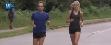 Amor, maratones y un sueño olímpico