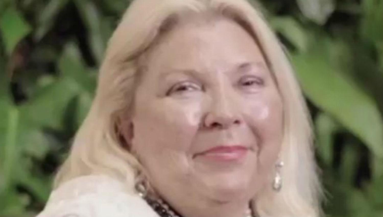 UPC quiere declarar a Lilita Carrió