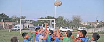 """El rugby florece en """"La Bombilla"""""""