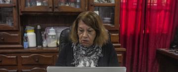 Nélida Quiroga, la comentarista