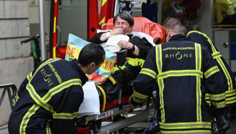 Al menos 13 heridos tras una explosión en Lyon