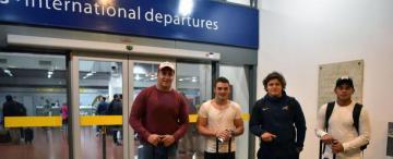 Coria, Carreras, Gallo y García se embarcaron hacia el Mundial M20