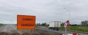 Hasta agosto, la nueva ruta 38 estará cerrada en Aguilares