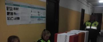 Trasladaron a 47 reos para que pudieran votar