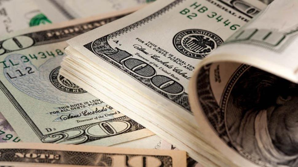 El dólar bajó 2,30% y cerró por debajo de $45