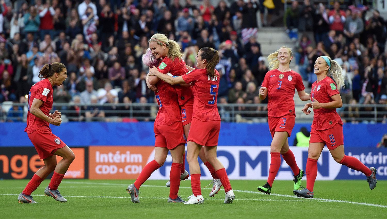 Estados Unidos humilló a Tailandia con goleada histórica en Mundial Femenil