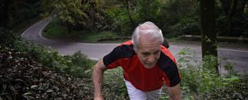 Francisco Artemio, el hombre al que cuando corre le crecen alas