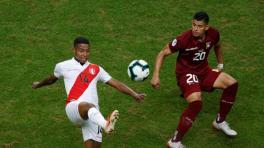 El VAR, clave en el empate de Perú y Venezuela