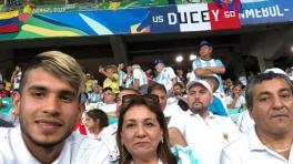 La familia de Pereyra viajó a Brasil para estar junto a él