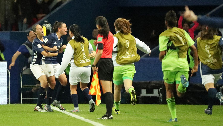 Las chicas argentinas quedaron eliminadas del Mundial de Francia — No pudo ser