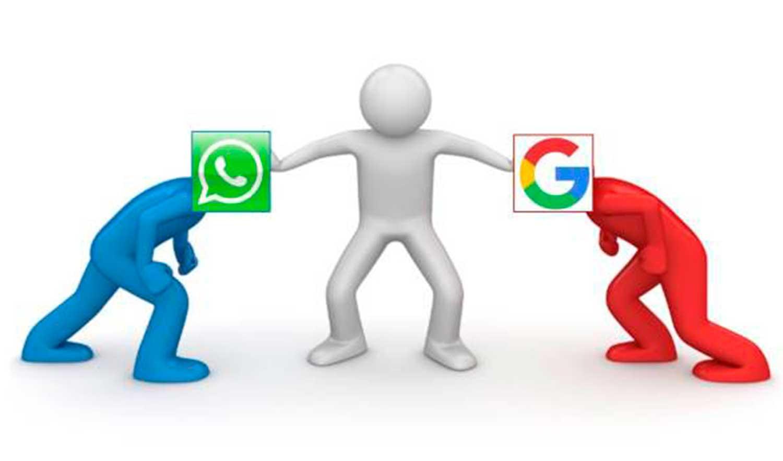 Google lanzará su propio WhatsApp
