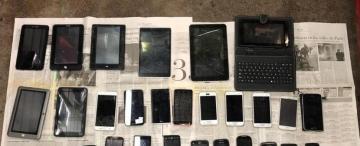 Detectan una red de compra y venta de celulares robados