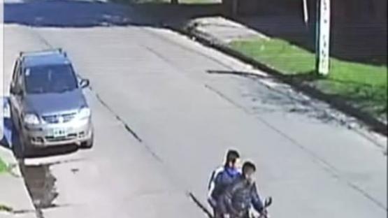 En pocas horas, las cámaras registraron dos robos en un radio de 200 metros