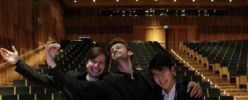 Concurso de Piano: alivio al final de una semana agitada
