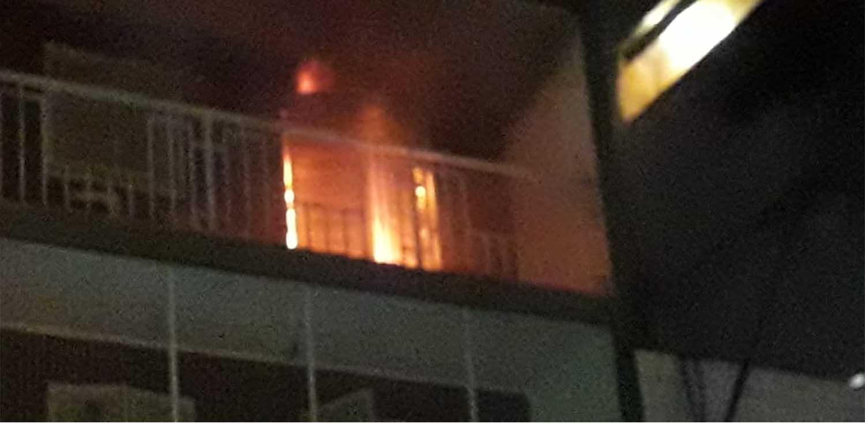 Se incendió un departamento en Mendoza al 300 1