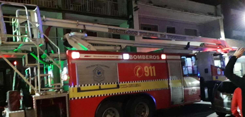 Se incendió un departamento en Mendoza al 300 2