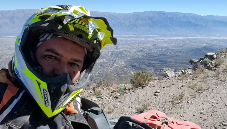 """Un tucumano murió al caer por un barranco con su """"cuatri"""" en Salta 1"""