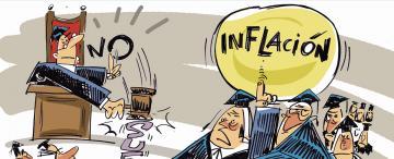 Revés para jueces que exigían una reparación por la inflación sufrida desde 1994